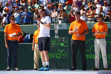 Andy Murray Miami Open Tennis - Day 14
