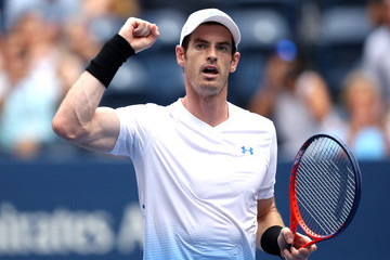 Andy Murray 2018 US Open - Day 1