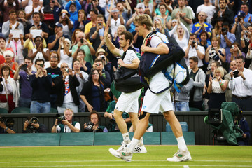 Andy Murray Wimbledon: Day 7