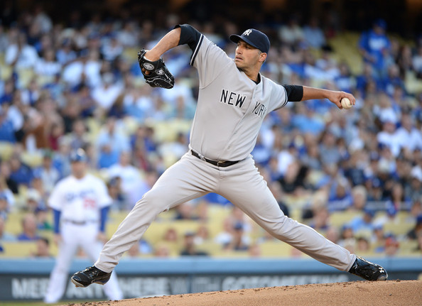 Andy Pettitte - New York Yankees v Los Angeles Dodgers