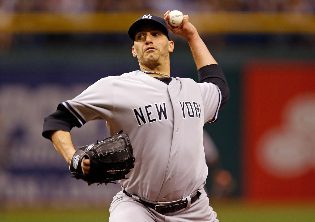Andy Pettitte - New York Yankees v Tampa Bay Rays