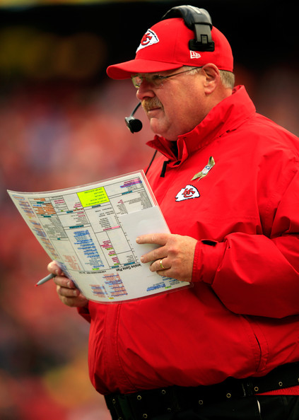 Andy Reid Pictures San Diego Chargers V Kansas City