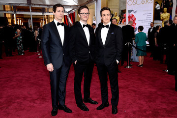 Andy Samberg Jorma Taccone Arrivals at the 87th Annual Academy Awards — Part 3