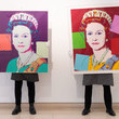 Andy Warhol Preparations Take Place At Christie's Ahead Of Online Sales - Photocall
