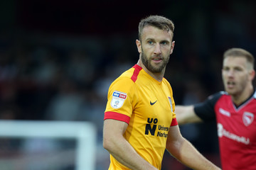 Andy Williams Morecambe vs. Northampton Town - Sky Bet League Two