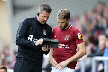 Andy Williams Northampton Town vs. Cheltenham Town - Sky Bet League Two