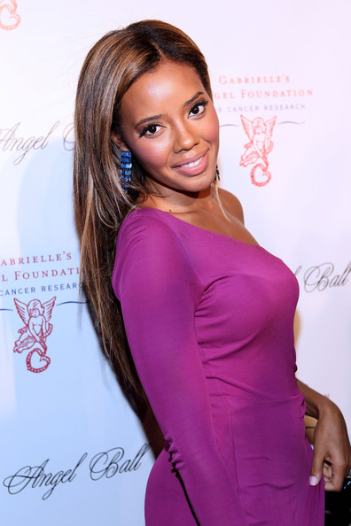 Angela Simmons attends the Angel Ball 2012 at Cipriani Wall Street on October 22, 2012 in New York City.