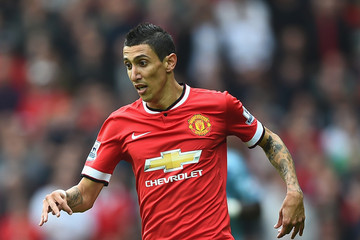 Angel Di Maria Manchester United v West Ham United - Premier League