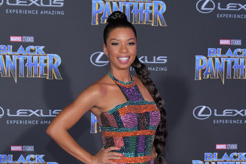 Angel Parker Premiere Of Disney And Marvel's 'Black Panther' - Arrivals