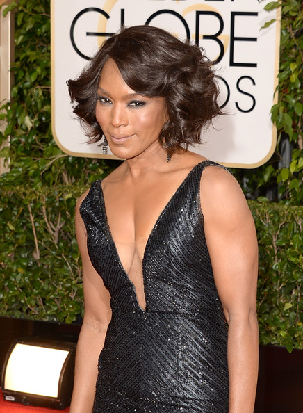 Angela Bassett - 71st Annual Golden Globe Awards - Arrivals