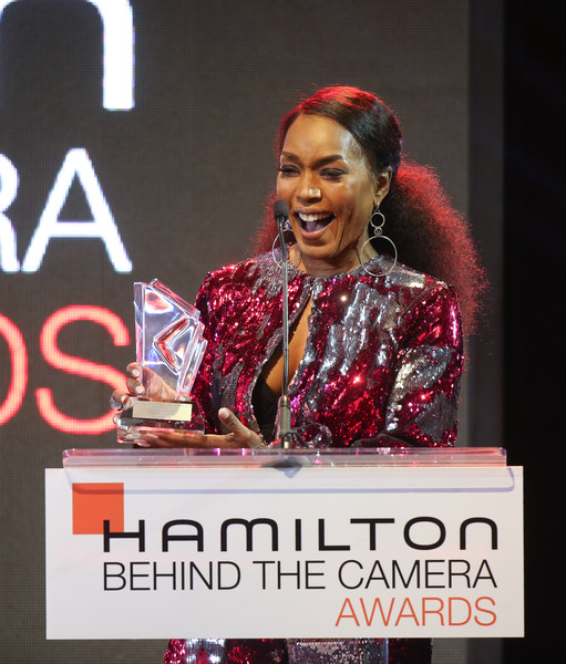 Hamilton Behind The Camera Awards - Inside [talent show,forehead,performance,spokesperson,font,event,speech,music artist,stage,public speaking,angela bassett,hamilton behind the camera awards,hamilton behind the camera awards,los angeles,california,los angeles confidential magazine]