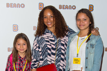 Angela Griffin Guests Arrive to Launch Beano.com