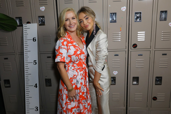 Premiere Of Netflix's 'Tall Girl' - After Party [locker,premiere,party,premiere,party,netflix,l,tall girl,actresses,sabrina carpenter,angela kinsey]