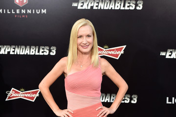 Angela Kinsey 'The Expendables 3' Premieres in Hollywood