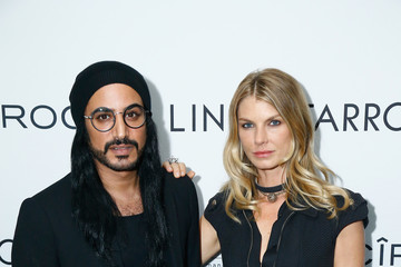 Angela Lindvall Linda Farrow Paris Fashion Week Dinner And After Party