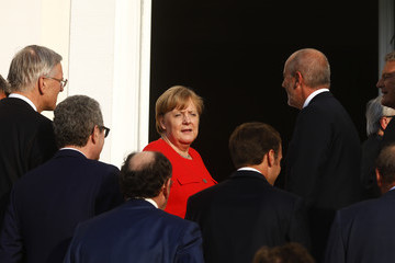 Angela Merkel France And Germany Hold Government Consultations