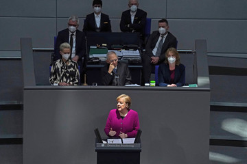 Angela Merkel European Best Pictures Of The Day - March 25