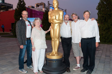 """Angela Paton The Academy Of Motion Picture Arts And Sciences' Oscars Outdoors Screening Of """"Groundhog Day"""""""