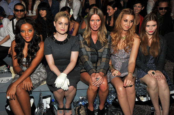 Charlotte Ronson - Front Row - Spring 2012 Mercedes-Benz Fashion Week