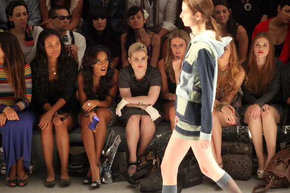 TRESemme at Charlotte Ronson - Front Row - Spring 2012 Mercedes-Benz Fashion Week