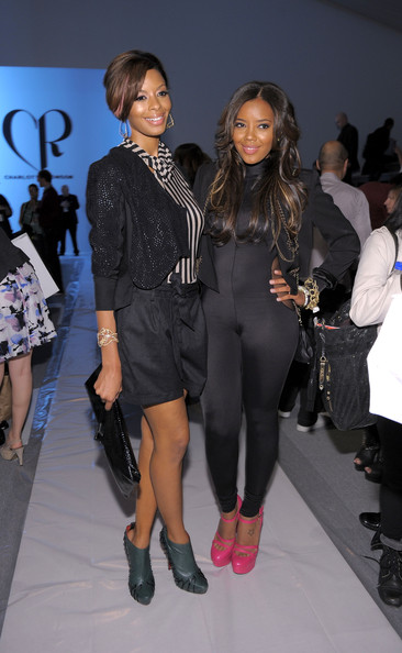 Angela Simmons Vanessa Simmons and Angela Simmons attend the Charlotte Ronson Spring 2011 fashion show during Mercedes-Benz Fashion Week at The Stage at Lincoln Center on September 11, 2010 in New YorkCity.