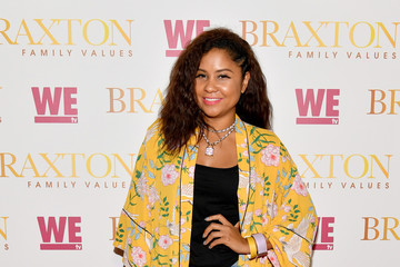 Angela Yee WE TV And Traci Braxton Celebrate The New Season Of Braxton Family Values