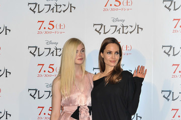 Angelia Jolie 'Maleficent' Press Conference in Tokyo — Part 2