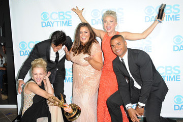 Angelica McDaniel Kelli Goss and Redaric Williams 41st Annual Daytime Emmy Awards Afterparty