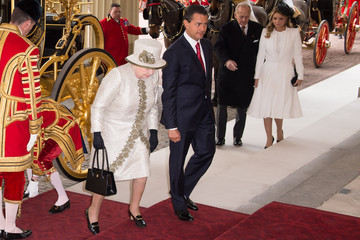 Angelica Rivera de Pena State Visit of the President of United Mexican States: Day 1