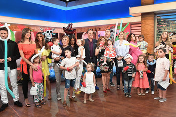 Angelica Vale 'Un Nuevo Dia' Celebrates Angelica Vale's Son's Birthday