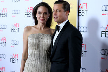 Angelina Jolie Brad Pitt Audi Celebrates AFI FEST 2015 Presented By Audi