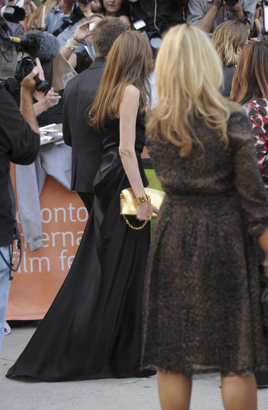 "Angelina Jolie - ""Moneyball"" Premiere - 2011 Toronto International Film Festival"