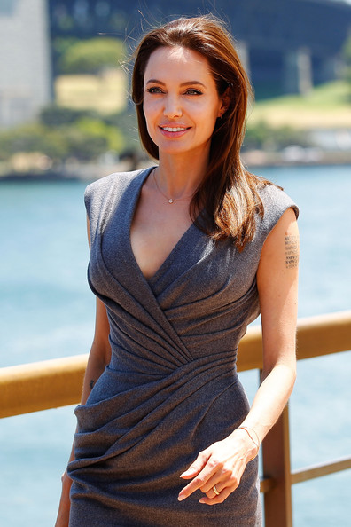 Angelina Jolie Angelina Jolie arrives at the photo call of Unbroken at Sydney Opera House on November 18, 2014 in Sydney, Australia.