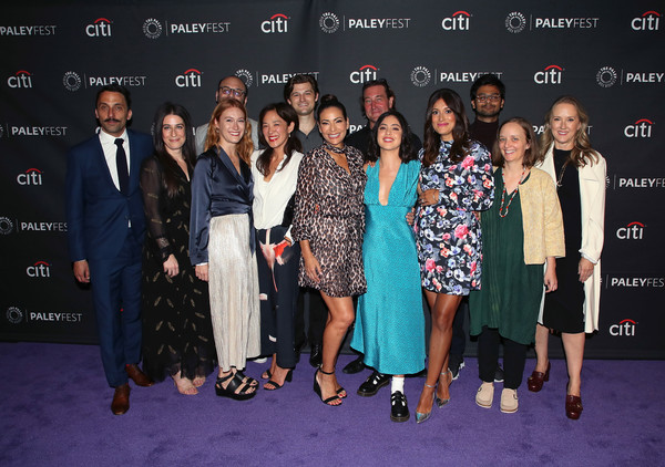 The Paley Center For Media's 2019 PaleyFest Fall TV Previews - Amazon - Arrivals [paleyfest fall tv previews,event,premiere,fashion,carpet,fashion design,award,performance,red carpet,award ceremony,arrivals,guests,angelique cabral,kevin bigley,raphael bob-waksberg,kate purdy,hisko hulsing,paley center for media,amazon]