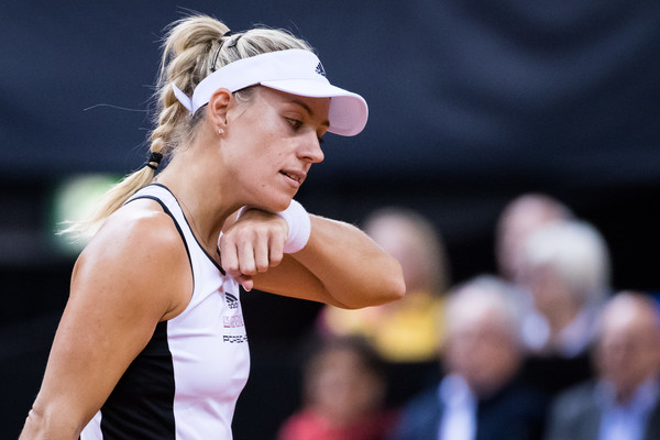 Injury Rules Angelique Kerber Out Of Birmingham