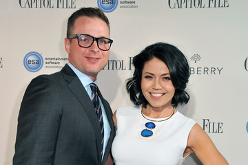 Angie Goff Capitol File's WHCD Weekend Welcome Reception With Cecily Strong
