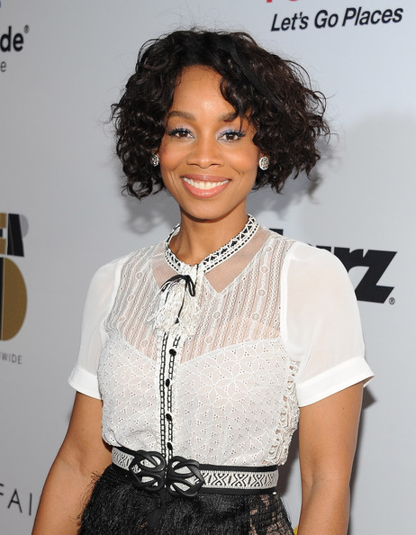 Anika Noni Rose Pictures Arrivals At The Ebony Power 100