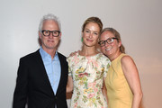 (L-R) John Slattery, Carolyn Murphy and  Animal Haven Director Tiffany Lacey attend the Animal Haven Gala 2019 at Tribeca 360 on May 22, 2019 in New York City.