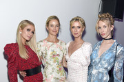 (L-R) Paris Hilton, Carolyn Murphy, Nicky Hilton Rothschild and Tessa Hilton attend the Animal Haven Gala 2019 at Tribeca 360 on May 22, 2019 in New York City.