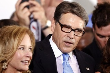 Anita Rick Perry Announces His Run For President