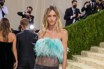 Anja Rubik The 2021 Met Gala Celebrating In America: A Lexicon Of Fashion - Arrivals