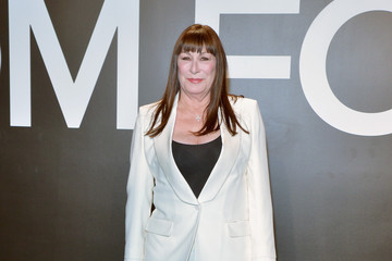 Anjelica Huston Tom Ford Presents His Autumn/Winter 2015 Womenswear Collection At Milk Studios In Los Angeles - Red Carpet