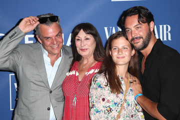 Anjelica Huston Danny Huston Oceana and the Walden Woods Project Present: Rock Under The Stars With Don Henley And Friends - Arrivals