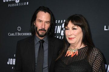 Anjelica Huston Special Screening Of Lionsgate's 'John Wick: Chapter 3 - Parabellum' - Red Carpet