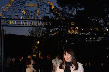 Anjelica Huston Burberry 'London In Los Angeles' Event - Red Carpet