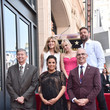 Anna Faris Eva Longoria Honored With Star On The Hollywood Walk Of Fame