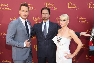 Anna Faris Marvel Wax Figures Unveiled in Hollywood