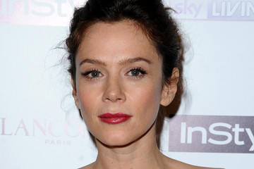 Anna Friel Arrivals at the Pre-BAFTA Party