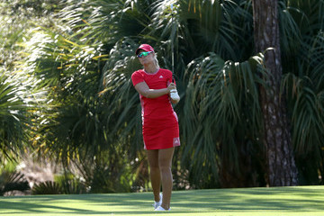 Anna Norqvist CME Group Tour Championship - Round One