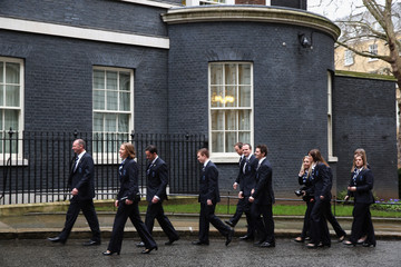 Anna Sloan Winter Olympic Medal Winners at Downing Street